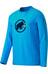 Mammut Snow Langærmet T-shirt Herrer blå
